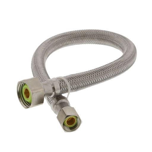 "Faucet Connector 3/8"" OD x 1/2"" FTP 16"""