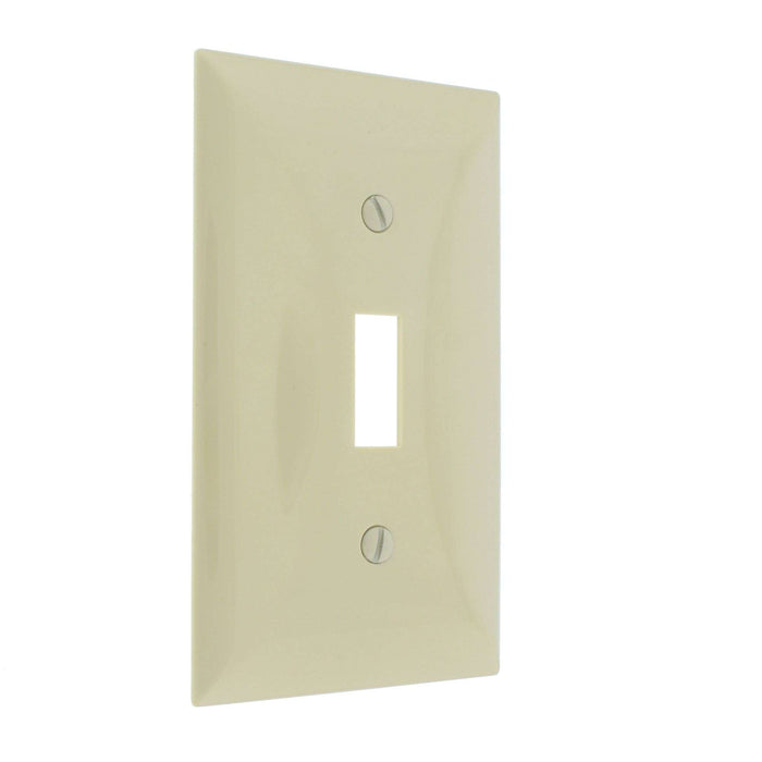 Toggle Switch Plate Cover Ivory