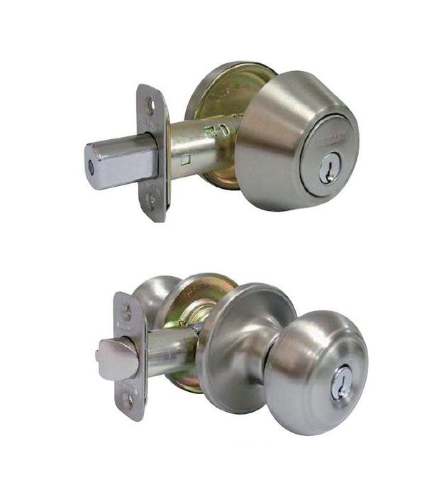 Deadbolt/Knob Set