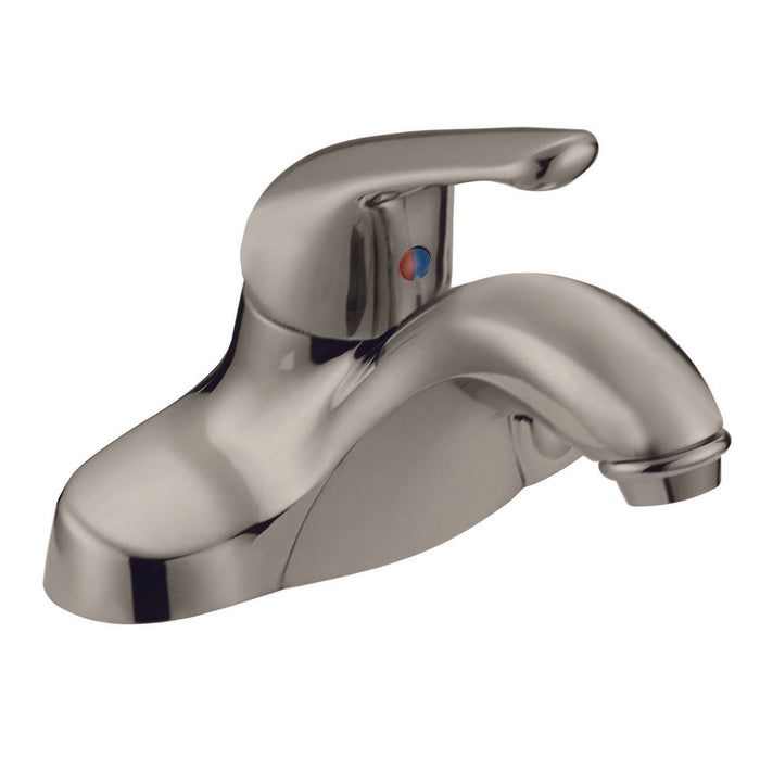 Satin Nickel Single-Handle Bathroom Faucet