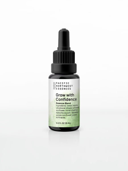 Grow with Confidence Essence Blend - Pacific Northwest Essences