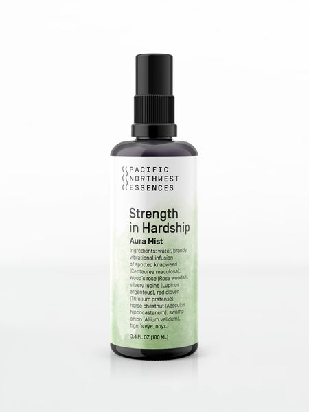 Strength in Hardship Aura Mist - Pacific Northwest Essences