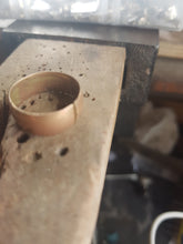 Remodel of a mans 18ct gold wedding ring