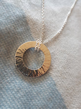 Sterling silver eyeglass pendant necklace