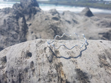 """Wild Atlantic Wave"" sterling silver bangle"