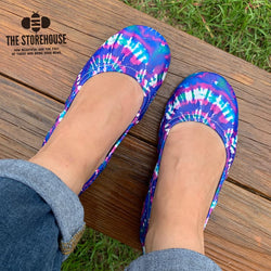 IN STOCK Storehouse Flats EXCLUSIVE LIMITED EDITION Tidal Pool Tie Dye