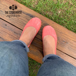 IN STOCK Storehouse Flats EXCLUSIVE LIMITED EDITION Oil Tanned Coral