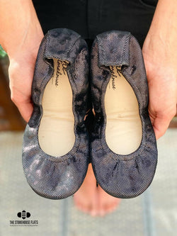 IN STOCK Storehouse Flats EXCLUSIVE LIMITED EDITION Gunmetal Shimmer
