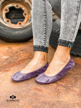 IN STOCK Storehouse Flats EXCLUSIVE LIMITED EDITION Oil Tanned Vintage Purple