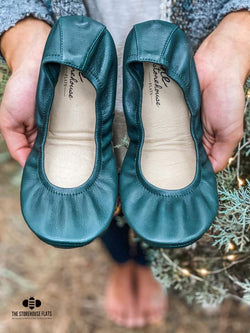 IN STOCK Storehouse Flats EXCLUSIVE LIMITED EDITION Classic Forest Green