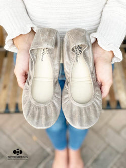 IN STOCK Storehouse Flats EXCLUSIVE LIMITED EDITION Oil Tanned Taupe