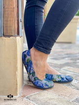 IN STOCK Storehouse Flats EXCLUSIVE LIMITED EDITION Blue Jean Floral