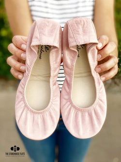 IN STOCK Storehouse Flats EXCLUSIVE LIMITED EDITION Ballet Pink Oil Tanned