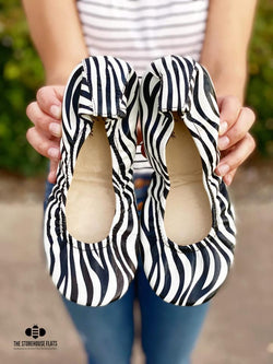 IN STOCK Storehouse Flats EXCLUSIVE LIMITED EDITION Zebra