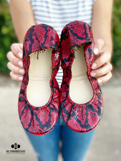 IN STOCK Storehouse Flats EXCLUSIVE LIMITED EDITION Crimson Snakes