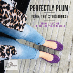 IN STOCK Storehouse Flats EXCLUSIVE LIMITED EDITION Perfectly Plum