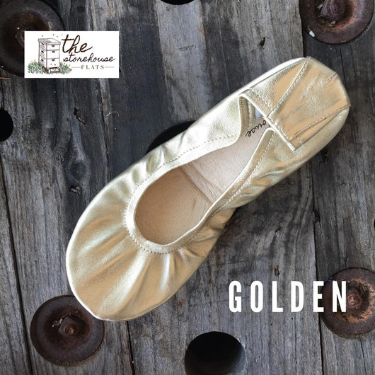 IN STOCK  Storehouse Flats CLASSIC COLLECTION Gold