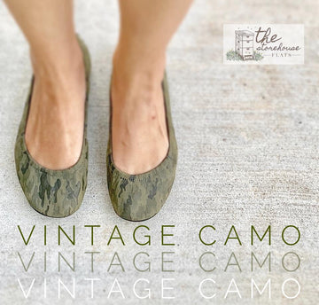 IN STOCK Storehouse Flats EXCLUSIVE LIMITED EDITION Vintage Camo