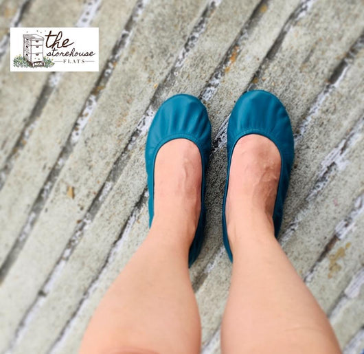 IN STOCK Storehouse Flats EXCLUSIVE LIMITED EDITION Teal