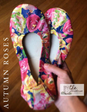 IN STOCK EXCLUSIVE Storehouse Flats LIMITED EDITION Autumn Roses