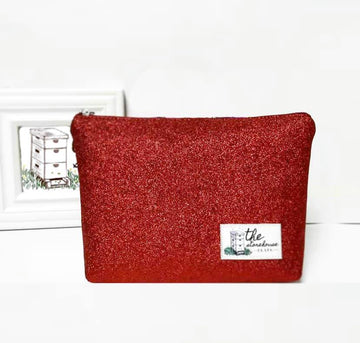 Storehouse Flats Bag Red Sparkle