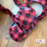 IN STOCK Storehouse Flats EXCLUSIVE LIMITED EDITION Red Winter Plaid