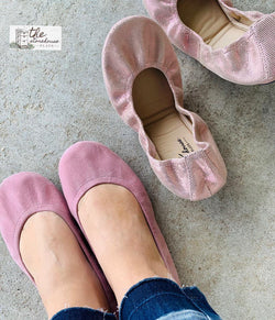 IN STOCK Storehouse Flats EXCLUSIVE LIMITED EDITION Mauve Suede
