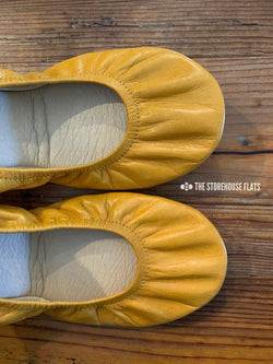 IN STOCK Storehouse Flats EXCLUSIVE LIMITED EDITION  Oil Tanned Honey Mustard