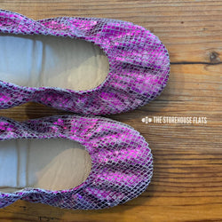 IN STOCK Storehouse Flats EXCLUSIVE LIMITED EDITION  Fuchsia Snake