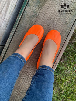 IN STOCK Storehouse Flats EXCLUSIVE LIMITED EDITION Neon Orange