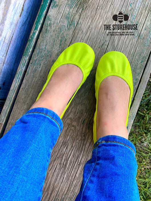 IN STOCK Storehouse Flats EXCLUSIVE LIMITED EDITION Neon Yellow