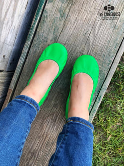 IN STOCK Storehouse Flats EXCLUSIVE LIMITED EDITION Neon Green