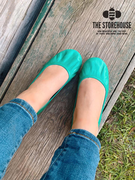 IN STOCK Storehouse Flats EXCLUSIVE LIMITED EDITION Oil Tanned Jungle Green