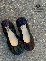 IN STOCK Storehouse Flats EXCLUSIVE LIMITED EDITION Disco Rainbow Dots