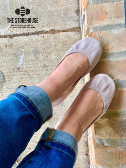 IN STOCK Storehouse Flats EXCLUSIVE LIMITED EDITION Taupe Suede