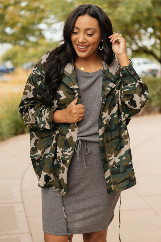Boot Camp Button Up Jacket
