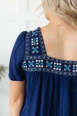 The Emilia Embroidered Blouse