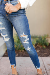 Judy Blue Tattered And Torn Jeans