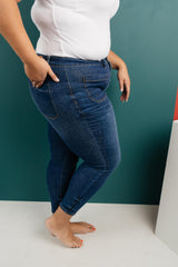 Judy Blue The One With Unique Pockets Medium Wash Jeans