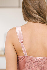 Velvet Vixen Camisole In Rose