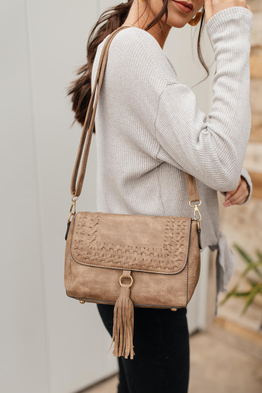 Braids and A Tassel Bag