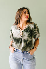 Jungle Expedition Top In Olive