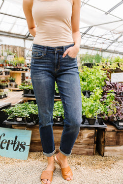 Judy Blue Slim Chance Non-distressed Jeans