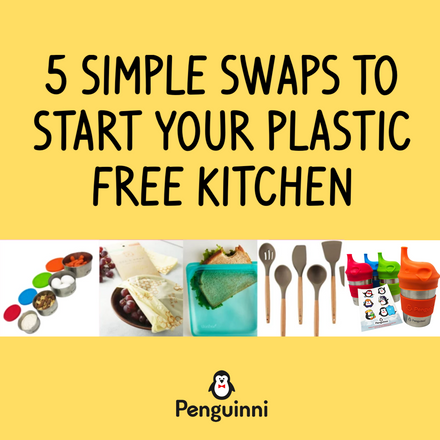 5 Simple Swaps to Start Your Plastic Free Kitchen