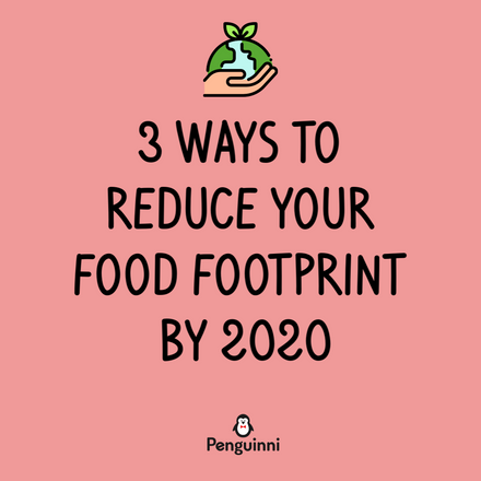 3 Ways to Reduce Your Food Footprint by 2020