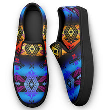 Sovereign Nation Sunset Otoyimm Canvas Slip On Shoes