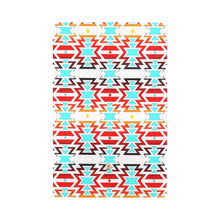 White Fire and Sky Women's Trifold Wallet