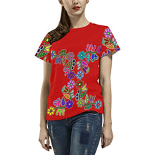 4 Generations Floral Sierra All Over Print T-shirt for Women/Large Size (USA Size) (Model T40) All Over Print T-Shirt for Women/Large (T40) e-joyer