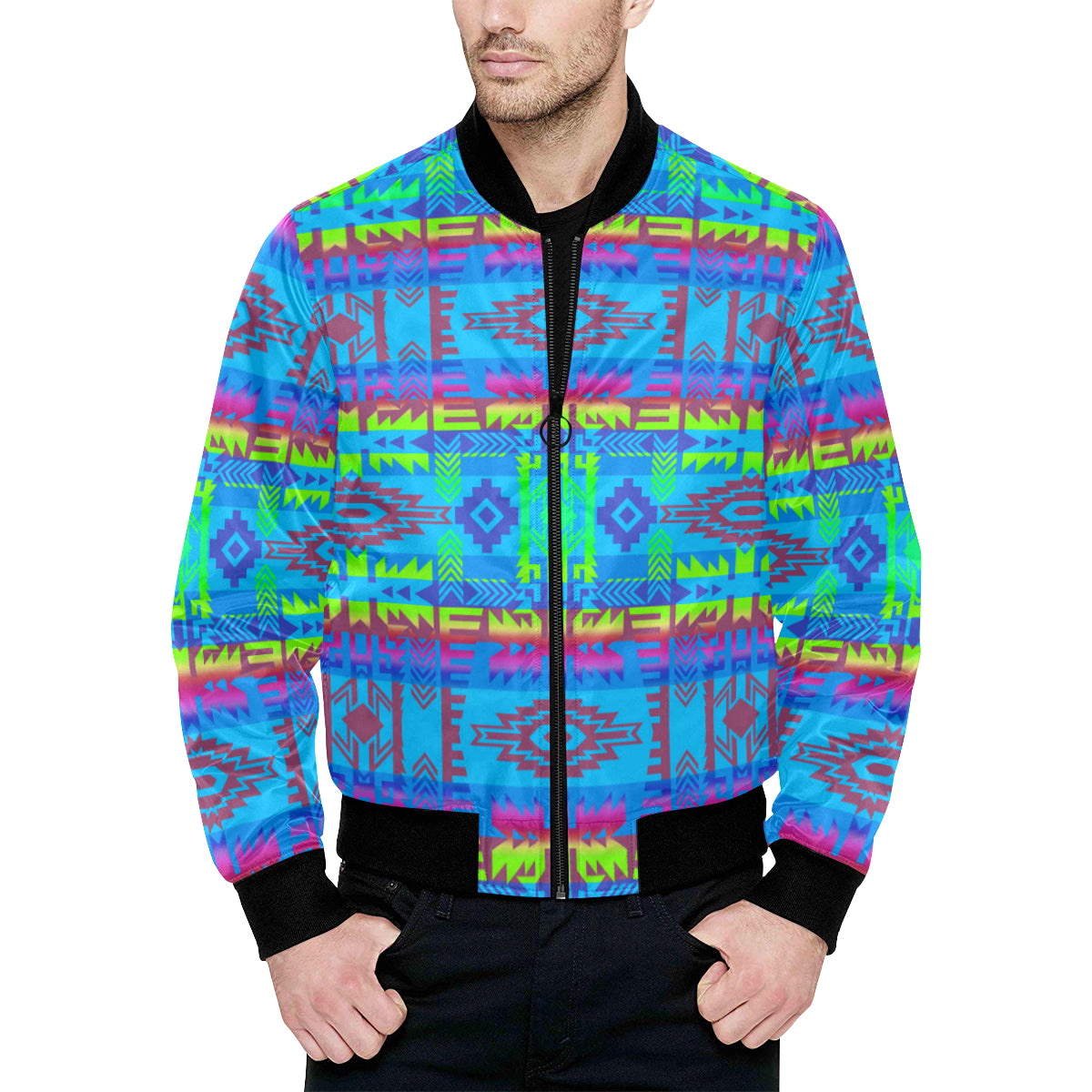 Young Journey Unisex Heavy Bomber Jacket with Quilted Lining