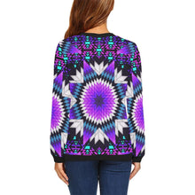 Morning Starfire All Over Print Crewneck Sweatshirt for Women (Model H18)